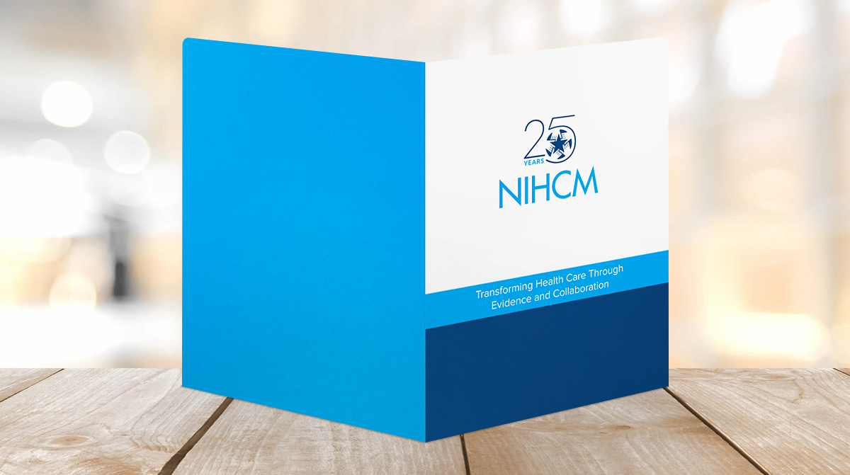 NIHCM Healthcare Presentation Folder