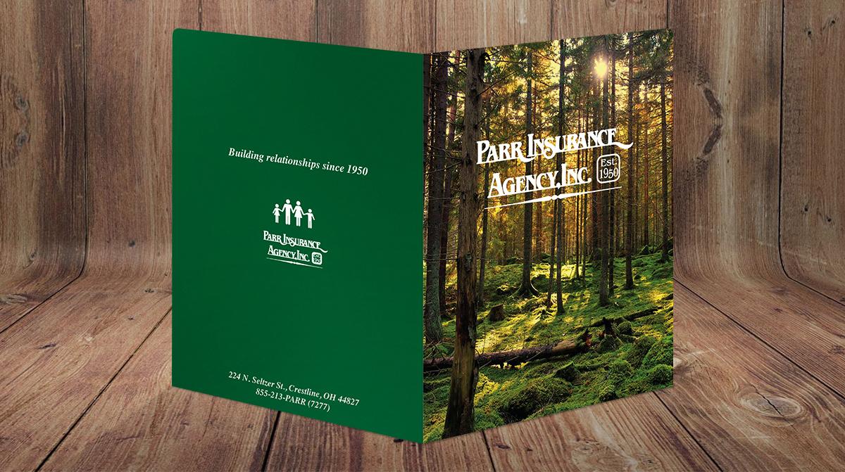 Parr Insurance Agency Presentation Folder