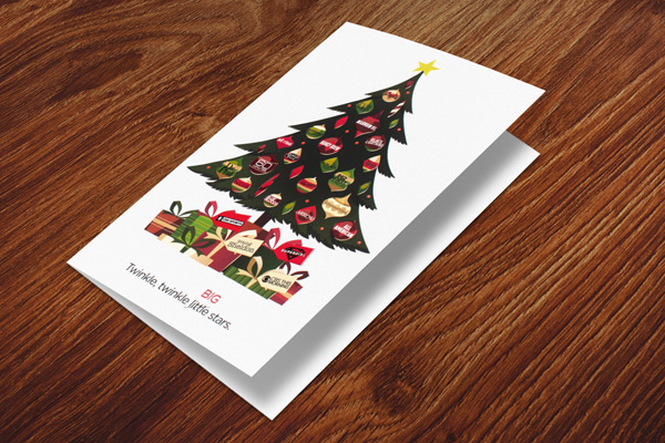 Christmas Card for Corporate Customers