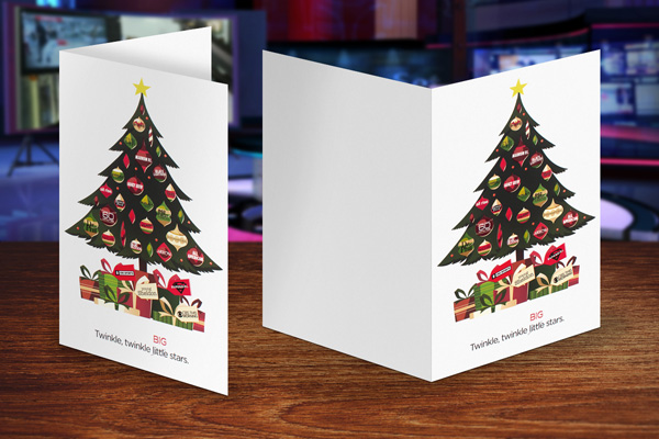Custom Business Christmas Cards