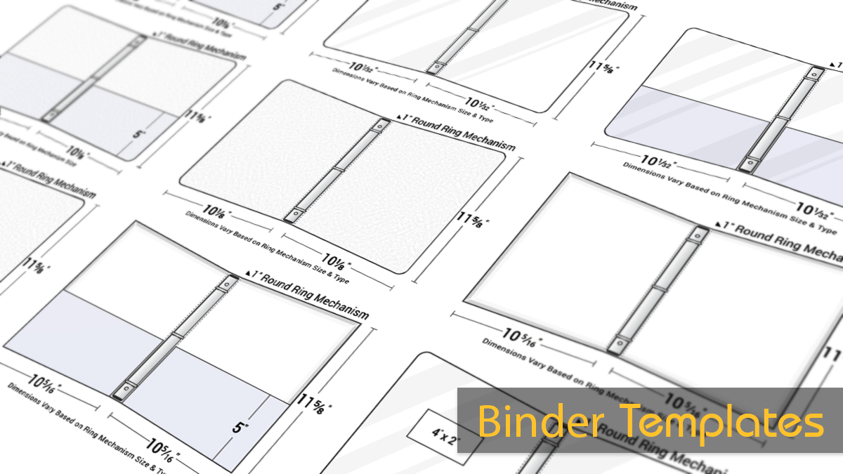 Free 3-Ring Binder Templates