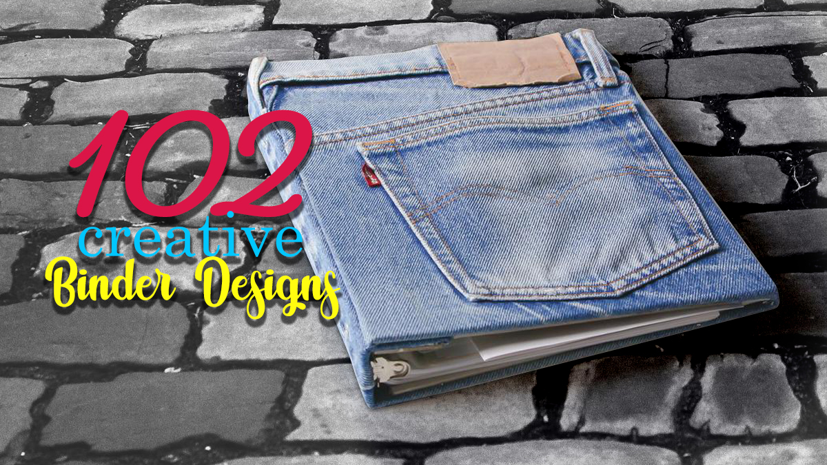 102 Incredibly Cool Binder Design Ideas