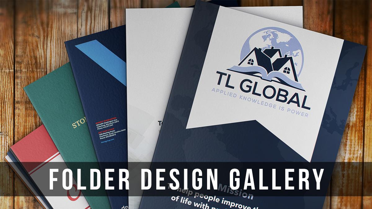 Presentation Folder Design Inspiration