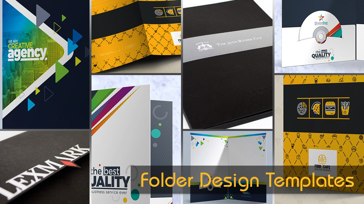 Presentation Folder Design Templates