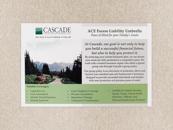 Financial Advisor Postcard
