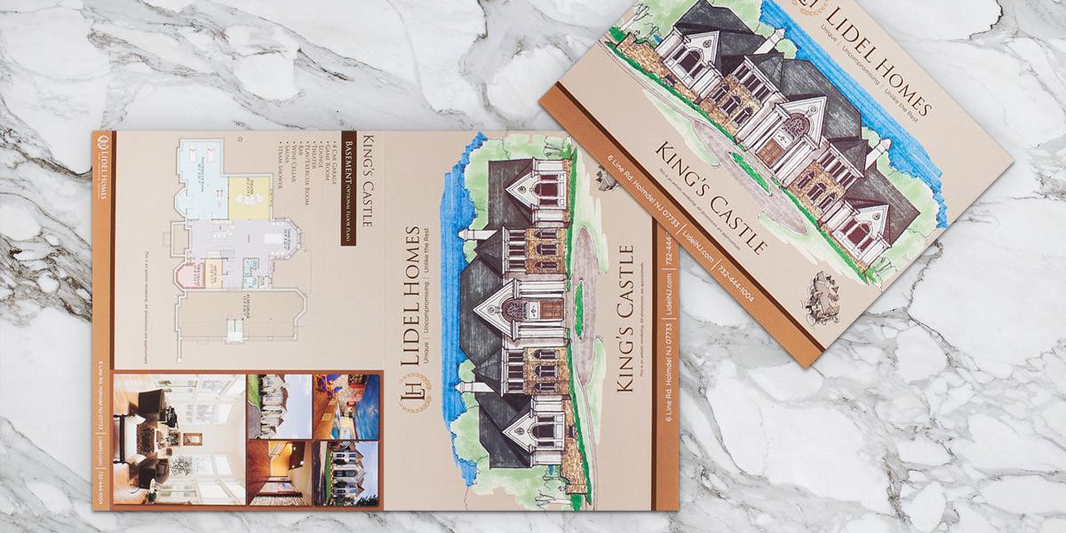 Custom Real Estate Brochure Design