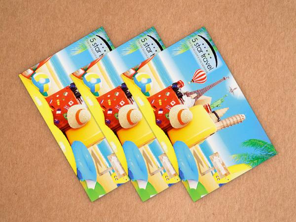 Custom Travel Agency Client Postcard - Star Travel