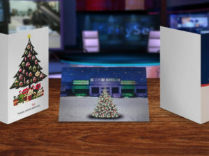 Case Study: Advice on Printing Effects Brings Custom Greeting Card to Life