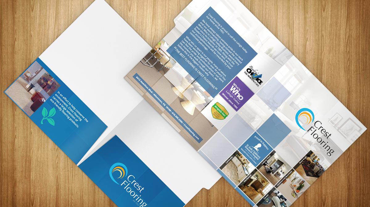 Customized File Folders for Flooring Company