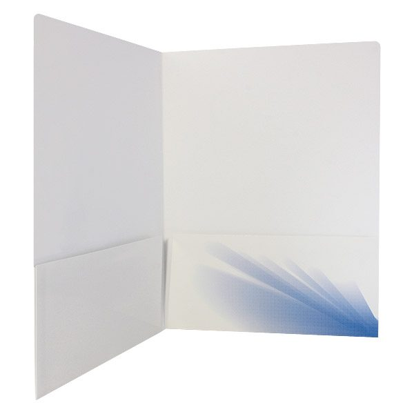 Creative Sports Inc. One-Color Presentation Folder (Inside Right View)