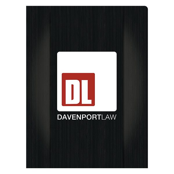 Davenport Law Firm Pocket Folder (Front View)
