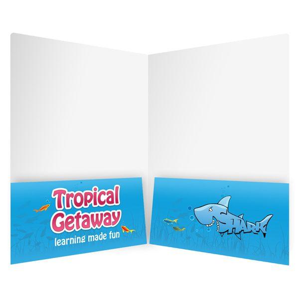 AACPS Cartoon School Folder for Kids Inside View)