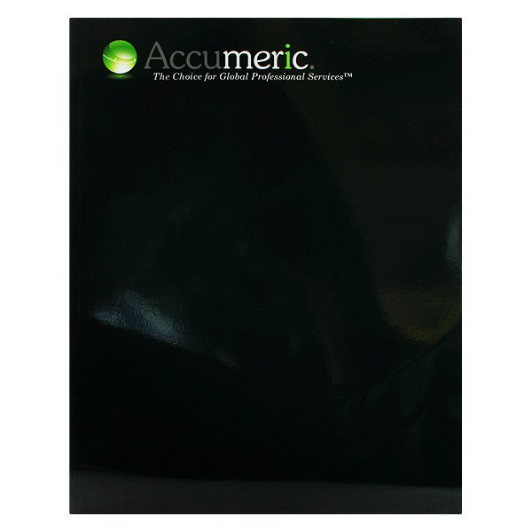 Accumeric Financial File Folder (Front View)