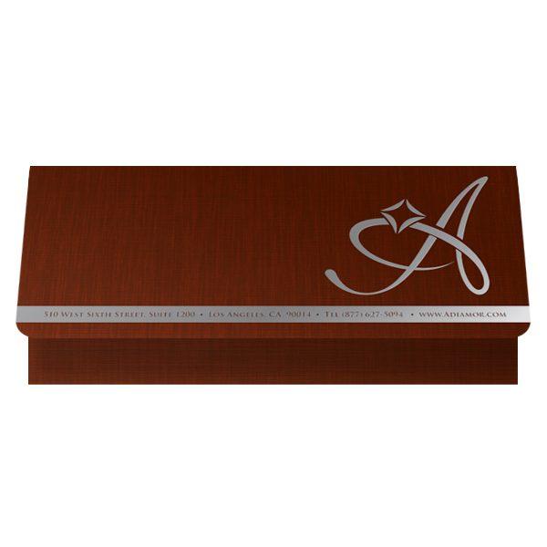 Adiamor Fine Jewelry Presentation Folder (Front Open View)