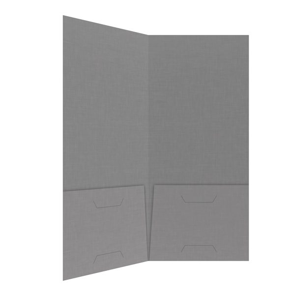 Advanced EyeCare Gray 2-Pocket Folder (Inside Right View)