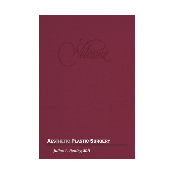 Aesthetic Plastic Surgery Presentation Folder (Front View)