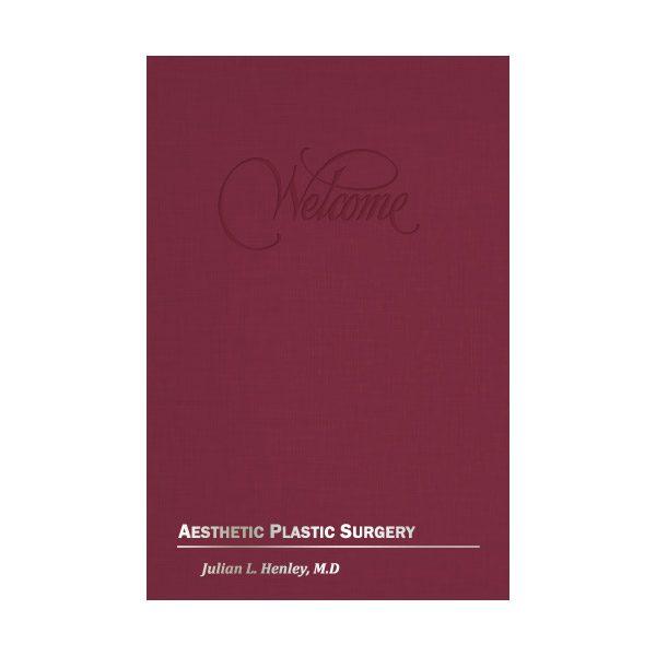 Aesthetic Plastic Surgery Presentation Folder (Front View)