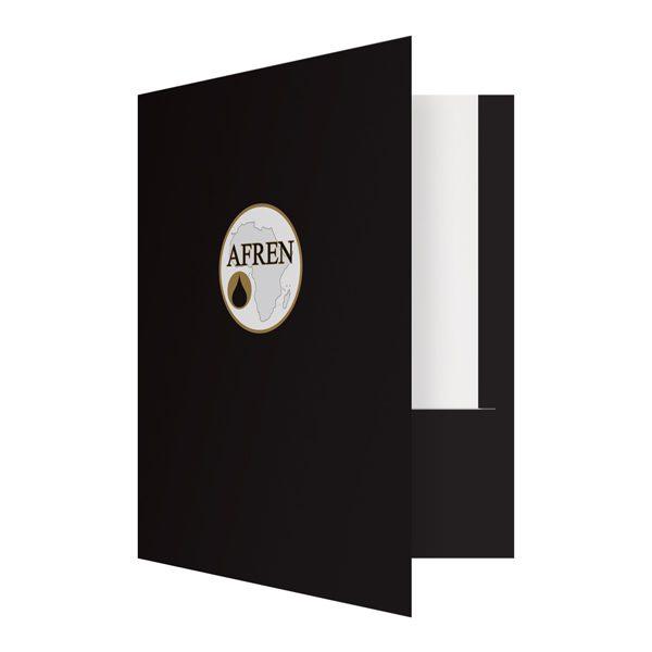 Afren Heavy Duty Pocket Folder (Front Open View)
