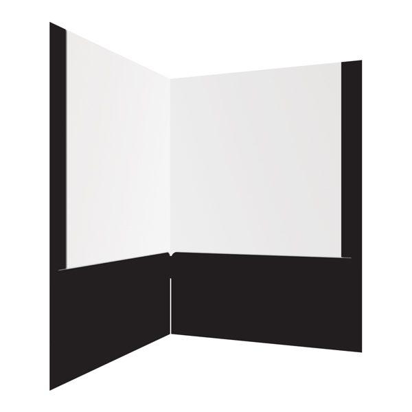 Afren 2-Pocket Presentation Folder (Inside Right View)