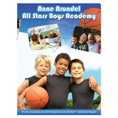 All Stars Boys Academy Presentation Folder (Front View)