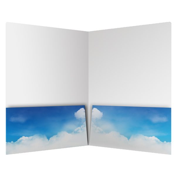 All Stars Boys Academy Clouds Pocket Folder (Inside View)