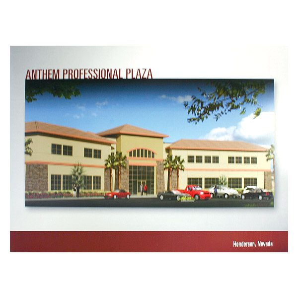 Anthem Professional Plaza Pocket Folder (Front View)