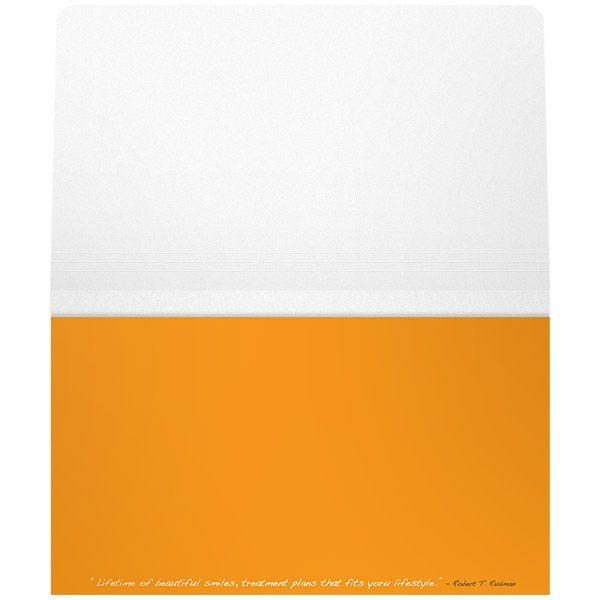 AOC Wallet Style Document Folder (Inside View)