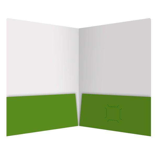Influential Presentation Folder for Applied Memetics (Inside View)