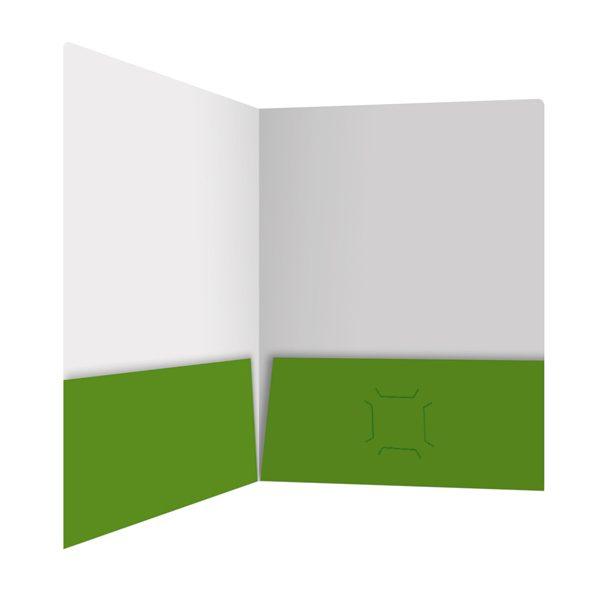 Applied Memetics Green Pocket Folder (Inside Right View)