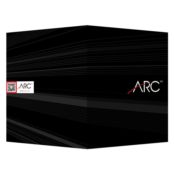 ARC Presentation Folder with QR Code (Front and Back View)