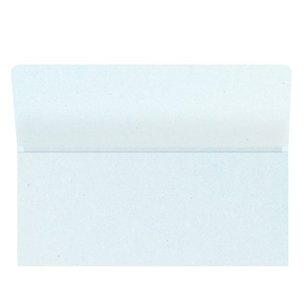 Auto One Blank White Wallet Style Folder (Inside View)