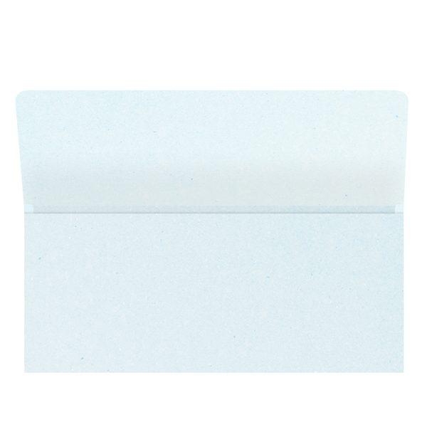 Auto One Blank White Wallet Style Folder (Inside View)