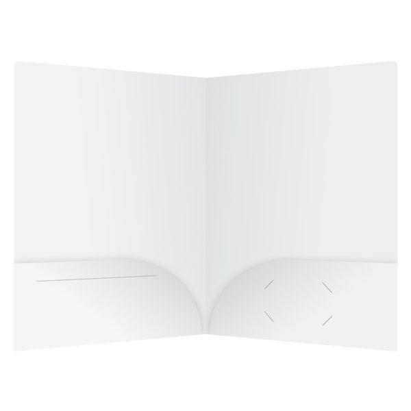 Avanti Fitness Pocket Folder with Media Slits (Inside View)