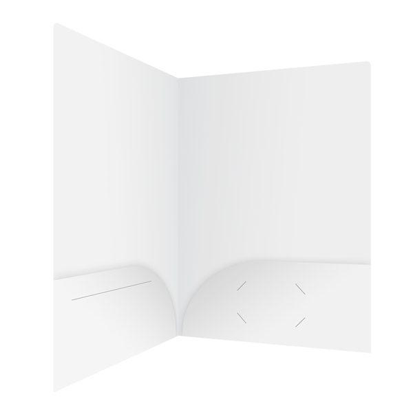 Avanti Fitness Blank White Two Pocket Folder (Inside Right View)