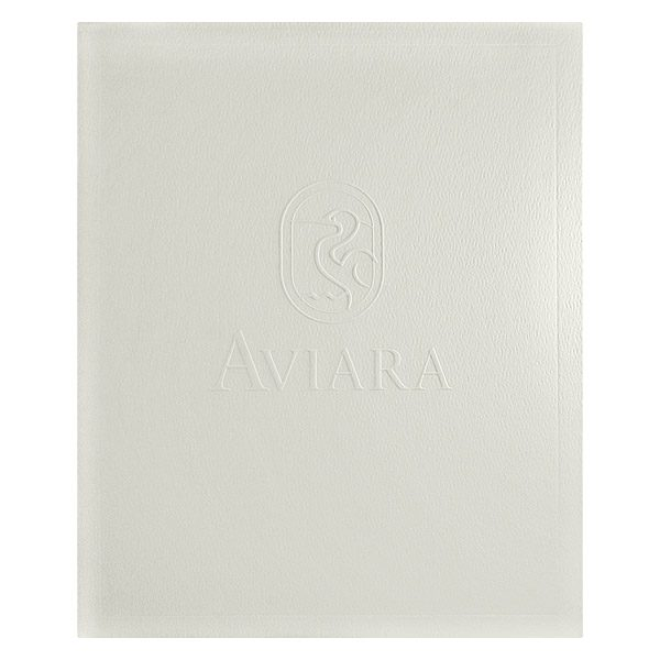 Aviara Life Stitched Brochure Folder (Front View)