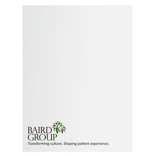 Baird Group Health Care Presentation Folder (Front View)