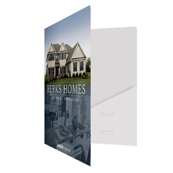 Berks Home Remodeling Presentation Folder (Front Open View)