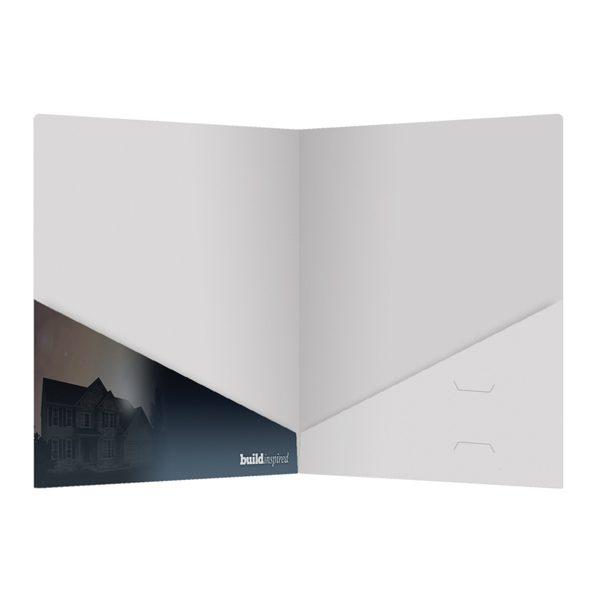 Berks Real Estate Presentation Folder (Inside View)
