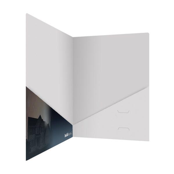Berks Homes Slash Pocket Folder (Inside Right View)