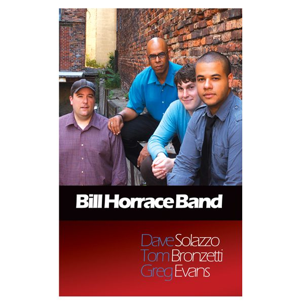 Bill Horrace Band Presentation Folder (Front View)