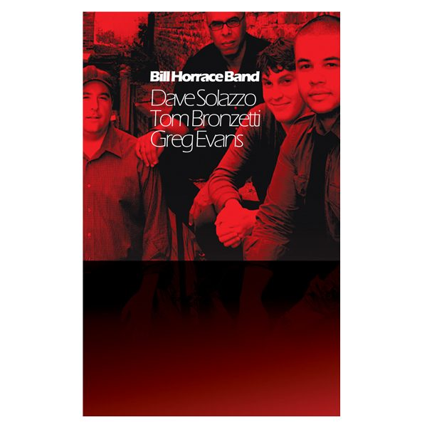 Bill Horrace Band Promotions Folder (Back View)