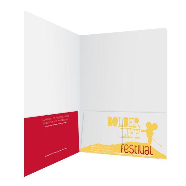 BolderLife Arts Festival Presentation Folder (Inside Right View)
