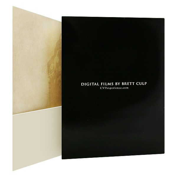 Brett Culp Film & Production Company Presentation Folder (Inside Right View)