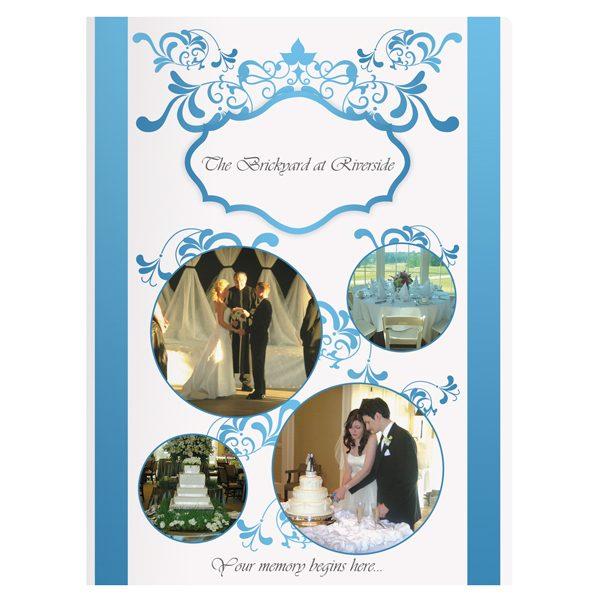 Brickyard Wedding Presentation Folder (Front View)