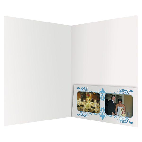 Brickyard Wedding Photo Presentation Folder (Inside View)