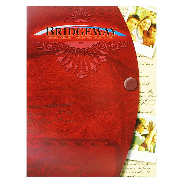 Bridgeway Christian Church Visitor Folder (Front View)