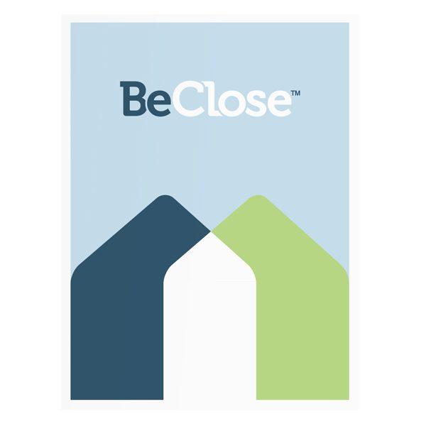 BeClose Caregivers Informational Presentation Folder (Front View)