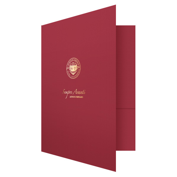 Justin-Siena Catholic High School Pocket Folder