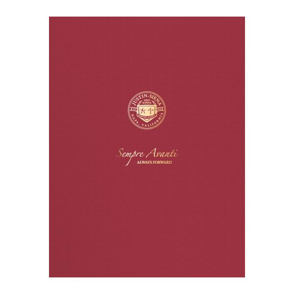 Folder Design: School Pocket Folders for Justin-Siena Catholic High