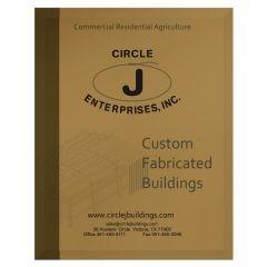 Circle J Enterprises Construction Company Folder (Front View)